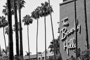 Black California Series - The Beverly Hills Hotel by Philippe Hugonnard