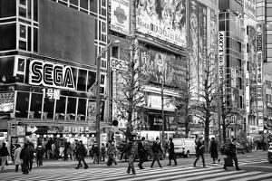 Black Japan Collection - Akihabara Tokyo by Philippe Hugonnard