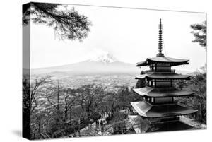 Black Japan Collection - Chureito Pagoda by Philippe Hugonnard