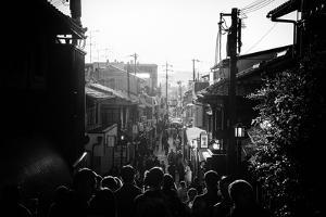 Black Japan Collection - Crowded Street by Philippe Hugonnard