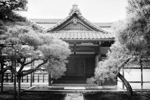 Black Japan Collection - Facade Temple by Philippe Hugonnard