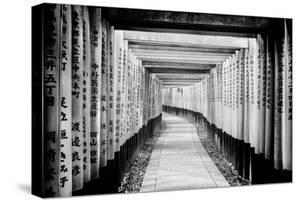 Black Japan Collection - Fushimi Inari Shrine by Philippe Hugonnard