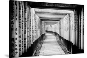 Black Japan Collection - Fushimi Inari Shrine by Philippe Hugonnard