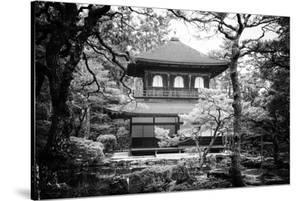 Black Japan Collection - Ginkakuji Temple Kyoto by Philippe Hugonnard