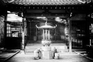 Black Japan Collection - Gotokuji Temple by Philippe Hugonnard
