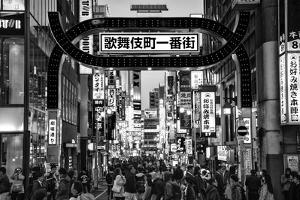 Black Japan Collection - Kabukicho Tokyo by Philippe Hugonnard