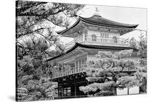 Black Japan Collection - Kinkaku-Ji Temple by Philippe Hugonnard