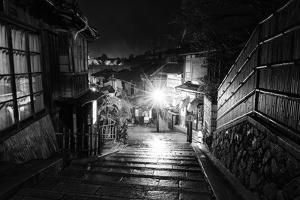 Black Japan Collection - Kyoto by night by Philippe Hugonnard