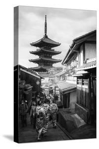 Black Japan Collection - Kyoto Sanneizaka Street by Philippe Hugonnard