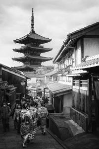 Black Japan Collection - Kyoto Sanneizaka Street by Philippe Hugonnard