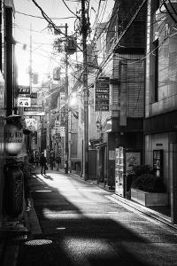 Black Japan Collection - Kyoto Street Scene I by Philippe Hugonnard