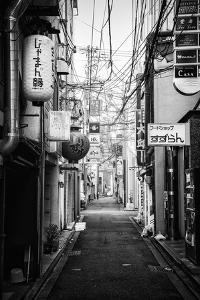 Black Japan Collection - Kyoto Street Scene II by Philippe Hugonnard