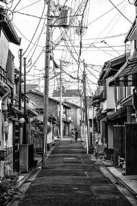 Black Japan Collection - Kyoto Street Scene III by Philippe Hugonnard