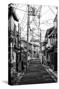 Black Japan Collection - Kyoto Street Scene III by Philippe Hugonnard