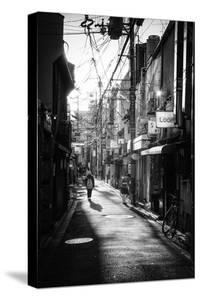 Black Japan Collection - Kyoto Street Scene by Philippe Hugonnard