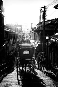 Black Japan Collection - Kyoto Urban Scene by Philippe Hugonnard