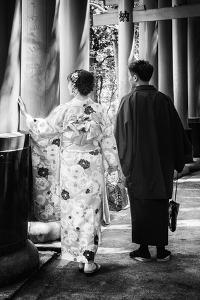 Black Japan Collection - Lovers by Philippe Hugonnard