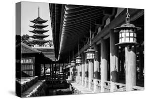 Black Japan Collection - Miyajima Temple by Philippe Hugonnard
