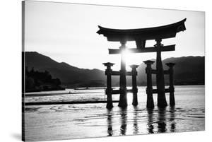 Black Japan Collection - Miyajima Torii by Philippe Hugonnard