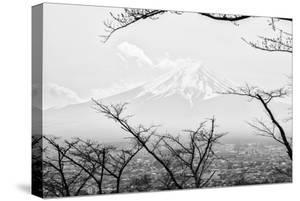 Black Japan Collection - Mt. Fuji by Philippe Hugonnard