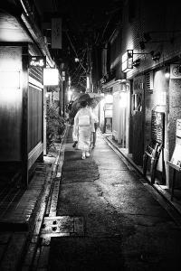 Black Japan Collection - Narrow Street by Philippe Hugonnard
