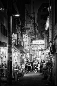Black Japan Collection - Night Street Scene II by Philippe Hugonnard