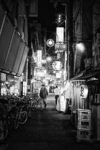 Black Japan Collection - Night Street Scene V by Philippe Hugonnard