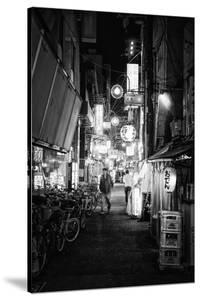 Black Japan Collection - Night Street Scene V by Philippe Hugonnard