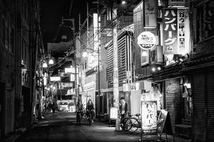 Black Japan Collection - Night Street Scene by Philippe Hugonnard