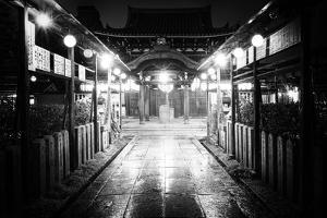 Black Japan Collection - Night Temple by Philippe Hugonnard