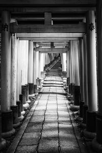 Black Japan Collection - Old Torii by Philippe Hugonnard