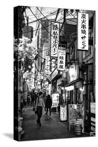 Black Japan Collection - Omoide Yokocho Shinjuku by Philippe Hugonnard