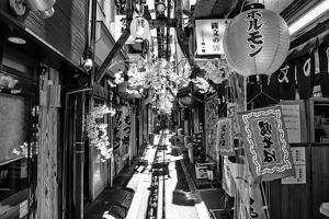 Black Japan Collection - Omoide Yokocho Tokyo by Philippe Hugonnard