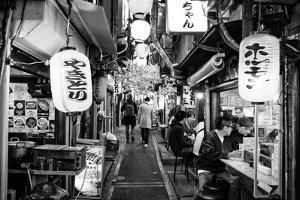 Black Japan Collection - Omoide Yokocho by Philippe Hugonnard