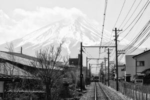 Black Japan Collection - On the way to Mt. Fuji by Philippe Hugonnard