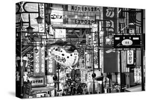 Black Japan Collection - Osaka City by Philippe Hugonnard