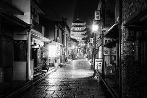 Black Japan Collection - Sannen Zaka Street Kyoto by Philippe Hugonnard
