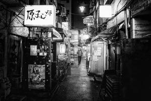 Black Japan Collection - Shinjuku Golden Gai II by Philippe Hugonnard