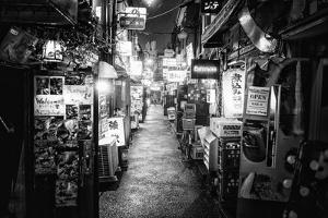 Black Japan Collection - Shinjuku Golden Gai III by Philippe Hugonnard