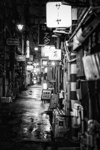 Black Japan Collection - Shinjuku Golden Gai by Philippe Hugonnard