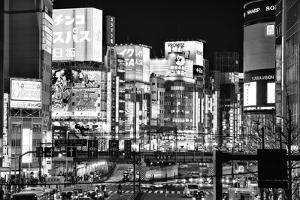 Black Japan Collection - Shinjuku Tokyo by Philippe Hugonnard