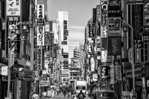 Black Japan Collection - Shinjuku by Philippe Hugonnard