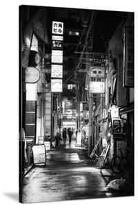 Black Japan Collection - Street Scene I by Philippe Hugonnard