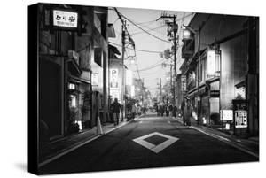 Black Japan Collection - Street Scene III by Philippe Hugonnard