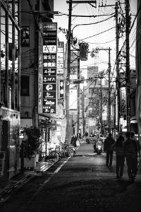 Black Japan Collection - Street Scene Kyoto I by Philippe Hugonnard