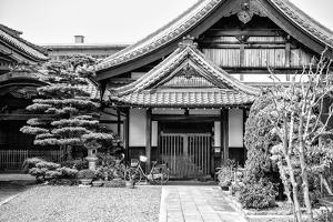 Black Japan Collection - Temple Architecture by Philippe Hugonnard
