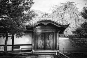 Black Japan Collection - Temple Gates by Philippe Hugonnard