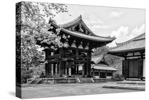 Black Japan Collection - Temple Nara by Philippe Hugonnard