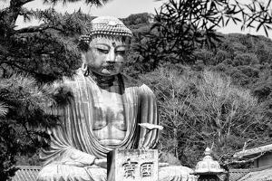 Black Japan Collection - The Great Buddha by Philippe Hugonnard