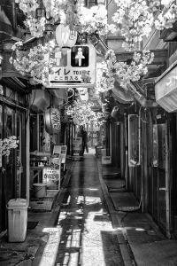 Black Japan Collection - Tokyo Omoide Yokoch by Philippe Hugonnard